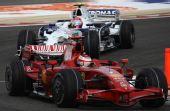 图文:[F1]巴林大奖赛正赛 莱科宁获得亚军