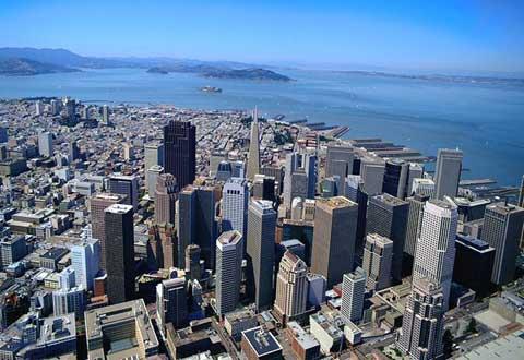 旧金山全景