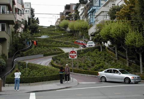 汽车驶出花街