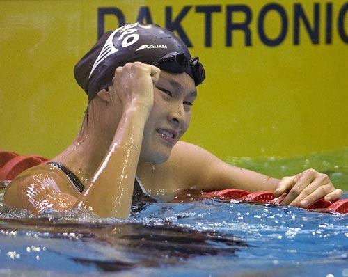 图文:加拿大游泳奥运入选赛 维多利亚波恩