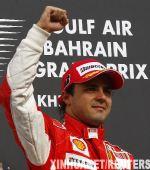 组图:马萨称雄F1巴林站 夺冠挥拳庆祝风光无限