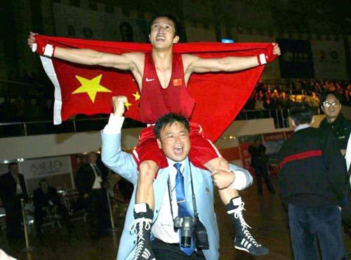 2006年夺得多哈亚运会冠军