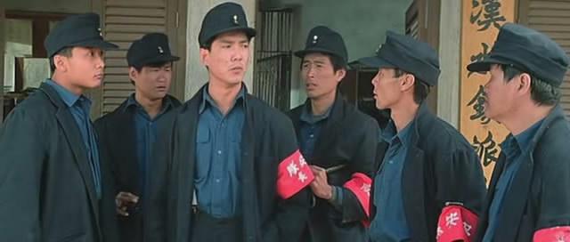 洪家班部分成员:钱嘉乐、咖喱、元彪、小虎(萧德虎)、小侯、陈龙。《富贵列车》