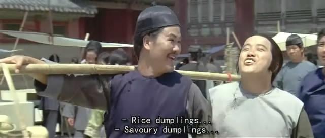 《赞先生与找钱华》陈龙和曾志伟骗了洪金宝一担粽子。