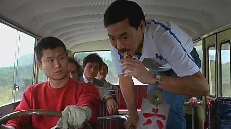 《奇谋妙计五福星》 咖喱、岑建勋、秦祥林、吴耀汉、冯淬帆(挡住那个是洪金宝)