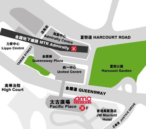 地图-AMC Pacific Place