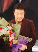 图文:天元战决赛第三局 冠军古力露出淡淡微笑