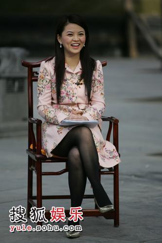 李湘走访少林寺