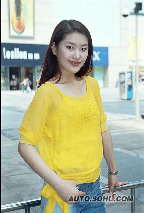2004新丝路中国模特大赛十佳:李海玉