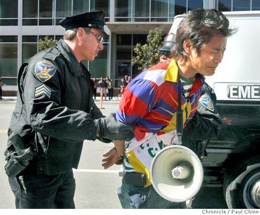警察逮捕一名藏独分子