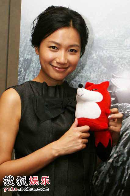 图:百位明星支持北京奥运 —— 徐静蕾