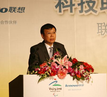 北京奥组委技术部副部长侯欣逸