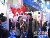 """狐狐坐镇 搜狐旅游在北京展台""""奥运互动"""""""