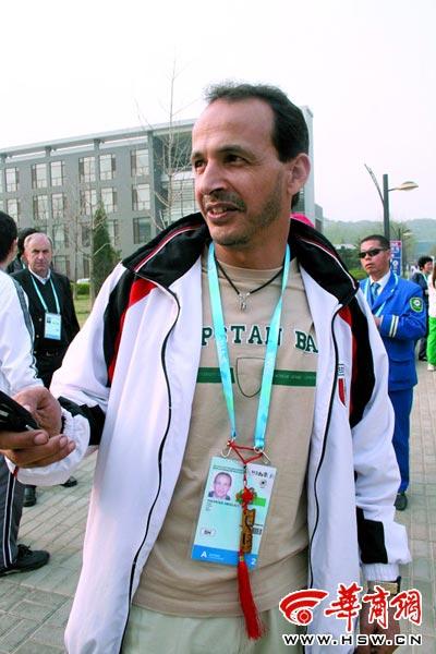 埃及运动员穆罕默德的如意