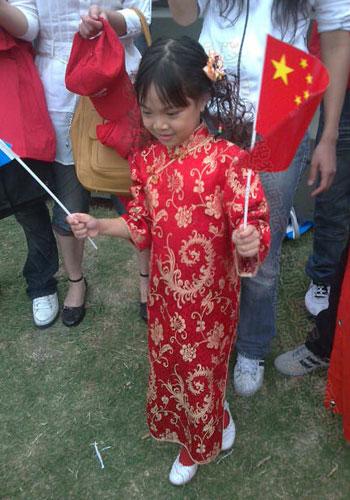 布市最为可爱的华人小朋友