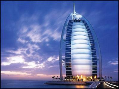 """七星级酒店""""帆船饭店""""让迪拜闻名世界"""