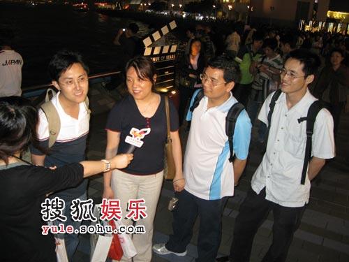 随机采访香港市民