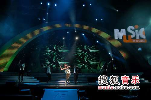 2007top排行榜精彩瞬间 蔡依林