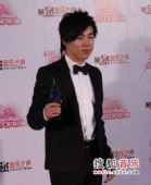 2007中国top排行榜领奖瞬间 胡彦斌