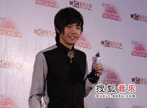 2007中国top排行榜领奖瞬间 俞灏明