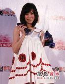 2007中国top排行榜领奖瞬间 王心凌
