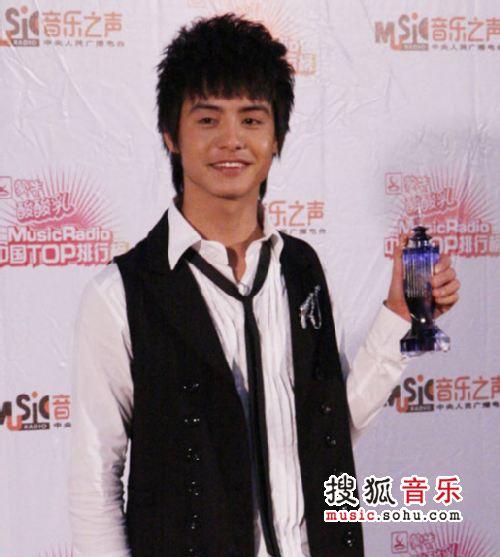 2007中国top排行榜领奖瞬间 马天宇