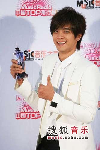 2007中国top排行榜领奖瞬间 罗志祥