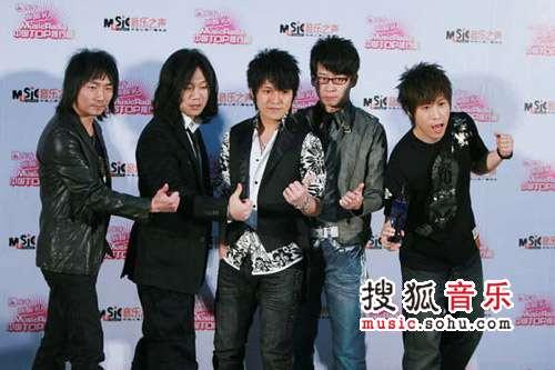 2007中国top排行榜领奖瞬间 五月天
