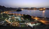 图文:马斯喀特滨海大道夜景