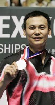 图文:印度尼西亚著名体育运动员 吴俊民