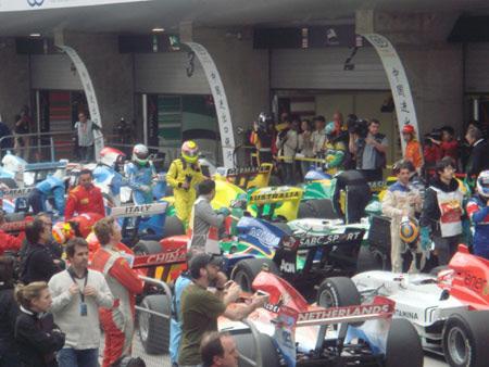 其他车队排列