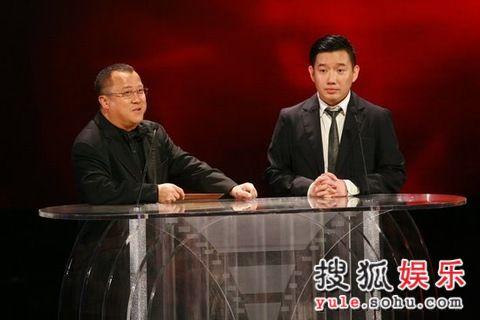 图: 杜汶泽曾志伟搞笑登台将颁最佳男配角