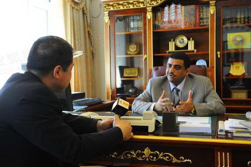 大使接受奥运官网的专访