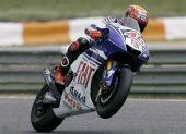 图文:MotoGP葡萄牙站正赛 洛伦佐车上庆祝