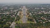 图文:伊斯兰堡4月16日即将传递 俯瞰城市全貌