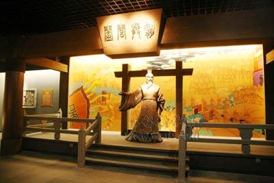 吴文化博物馆一角。(陈大春摄)