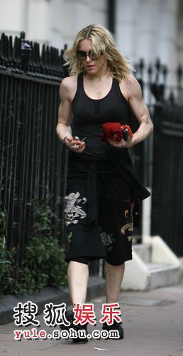 麦当娜肌肉壮硕
