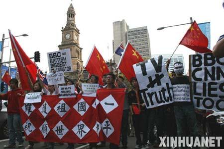 奥运让全球华人团结在一起。