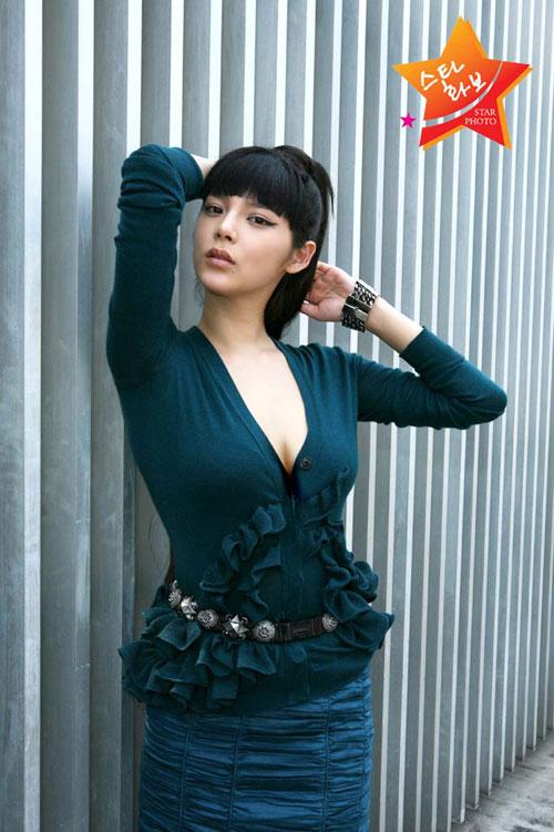 朴时妍大胆拍性感写真集 搜狐女人