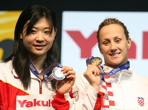 高畅的银牌让中国游泳队没有空手而归