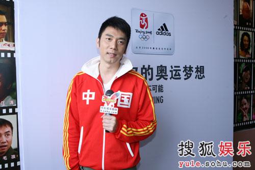 林依轮接受搜狐娱乐采访