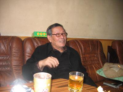 马胜利3月8日在家中接受记者采访