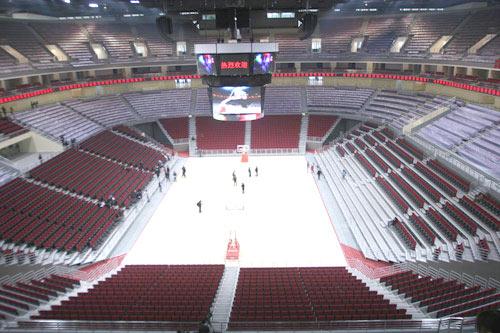 北京奥林匹克篮球馆内景