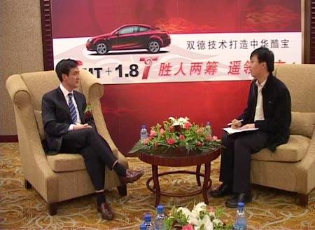 沈阳华晨金杯汽车有限公司总裁刘志刚接受搜狐汽车专访