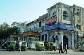 图文:新德里商业区的英式老建筑