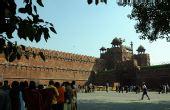 图文:德里旧城著名的古城堡--红堡