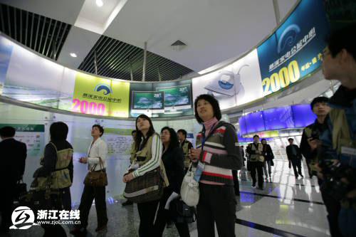 网记参观慈溪会展中心