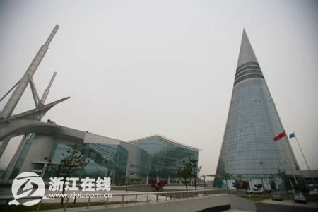 慈溪会展中心外景