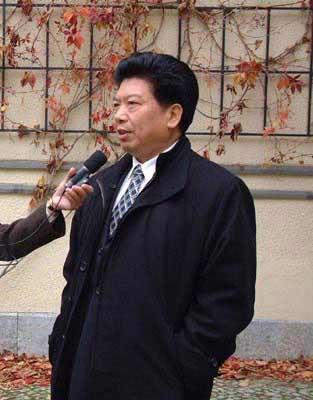 中国驻德国大使马灿荣