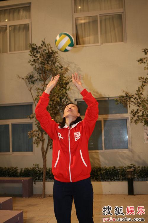 《奥运在我家》迎来前女排李国君崔咏梅—06
